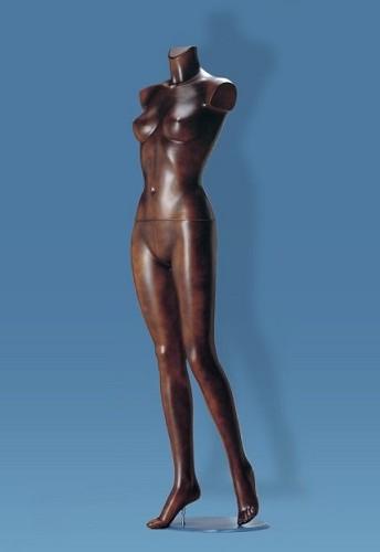 Donna senza testa e braccia