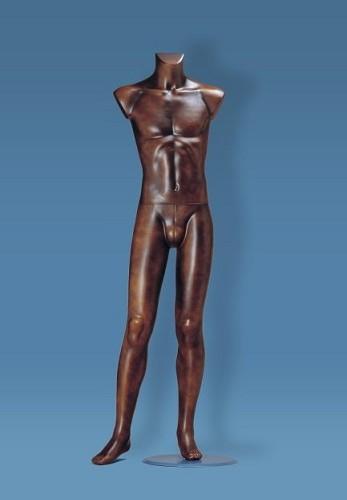 Uomo senza testa e braccia