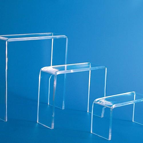 EV tris tavolini plex